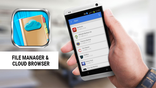 FILE MANAGER & CLOUD BROWSER - REVIEW - Appsthunder com