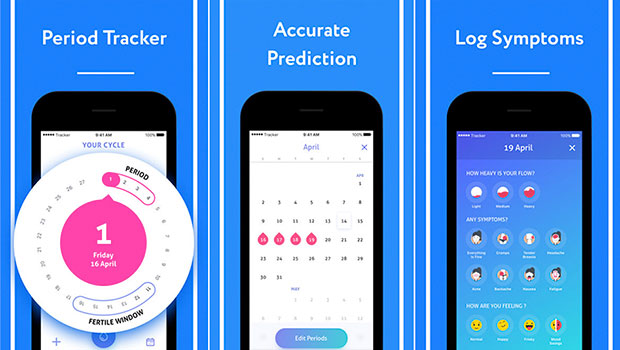Track your menses better with inme: Period Tracker iphone
